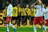 """Puikus """"Borussia"""" įvartis paskandino """"Leipzig"""" klubą"""