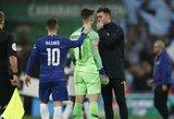 """K.Arrizabalaga: """"E.Hazardas yra tarp penkių geriausių pasaulio futbolininkų"""""""