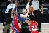 """Vienas """"Celtics"""" lyderių paliko Orlando burbulą"""