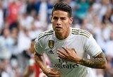 """Oficialu: J.Rodriguezas keliasi rungtyniauti iš """"Real"""" į """"Everton"""""""