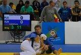 Europos jaunių dziudo čempionate E.Lizūnas iškovojo dvi pergales
