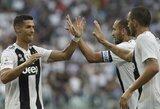 """C.Ronaldo nepasinaudojo puikia proga pelnyti įvartį, tačiau """"Juventus"""" iškovojo pergalę"""