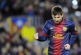 L.Messi toliau skina rekordus