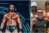 """WWE čempionas priėmė C.Covingtono iššūkį: """"Galime susimušti bare, kur sulaužyčiau tau žandikaulį"""""""