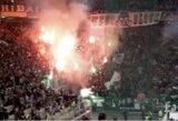 """Graikijos grandų mūšis baigėsi skandalu: """"Olympiacos"""" atsisakė tęsti rungtynes"""