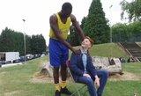 Krepšinio gerbėjas iš Londono sulaukė NBA žvaigždės staigmenos