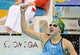 Į tarptautines varžybas sugrįžusi R.Meilutytė 100 m krūtine rungtyje užfiksavo trečią rezultatą pasaulyje (atnaujinta)