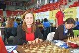 Internetiniame Europos šachmatų čempionate – lietuvių problemos