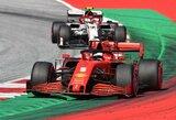 """Po pokalbio su """"Red Bull"""" vadovais perspėtas S.Vettelis: """"Džiaugiuosi, kad apsisukau tik kartą"""""""