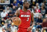 """""""Heat"""" komandos prezidentas P.Riley laukia D.Wade'o verdikto: """"Duosime jam laiko apsispręsti tiek, kiek reikės"""""""