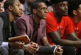 NBA nubaudė koją pakišti varžovui mėginusį R.Rondo