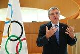 Th.Bachas svarsto galimybę Tokijo olimpiadą organizuoti 2021 m. pavasarį