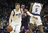 NBA skyrė baudą L.Dončičiui