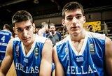 """""""Nevėžį"""" papildė talentingi dvyniai iš Graikijos"""