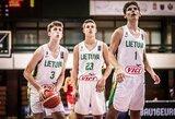 Paskutinę sekundę bloką gavę lietuviai iškrito iš kovos dėl medalių