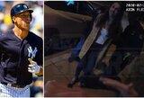"""Girta prie vairo sulaikyta MLB žvaigždės mergina kreipėsi į pareigūnus: """"Jūs žinote, kas mano vaikinas?"""""""