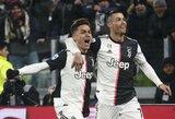 """P.Dybala atvirai: """"Cristiano, mes Argentinoje tavęs nekenčiame"""""""
