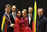 K.Burneikis ir I.Šekaitė šoko dar vieno pasaulio čempionato finale