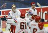Baltarusijos ledo ritulininkai sensacingai pamokė amerikiečius ir tapo grupės lyderiais