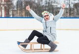 Olimpines žaidynes mačiusiomis slidėmis čiuožinėjanti V.Vencienė padės siekti Lietuvos rekordo