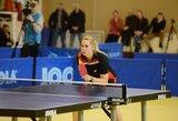 Lietuvos moterų stalo teniso rinktinė Europos čempionate pralaimėjo favoritėms ispanėms