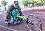 Paralimpinių žaidynių prizininkas K.Skučas tikisi savo pavyzdžiu užkrėsti sportu abejojančius