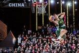 """Iššūkį žemės traukos dėsniui metęs krepšininkas J.Jogminas: """"Mėgstu palikti žiūrovus be žado"""""""