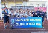 Europos jaunimo regbio-7 čempionatas Panevėžyje baigėsi prancūzų triumfu