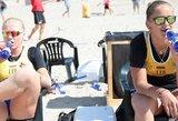Lietuvos paplūdimio tinklininkai tęsia kovą dėl pasaulio universitetų čempionato medalių