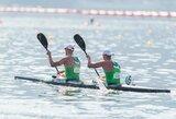Baidarininkai R.Nekriošius ir A.Olijnikas Europos čempionate finišavo šešti