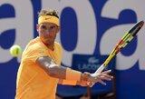 R.Nadalis Barselonoje pateko į pusfinalį, kiti favoritai patyrė netikėtas nesėkmes