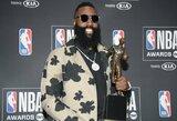 J.Hardenas – NBA sezono MVP, paskelbti kiti apdovanojimų laureatai