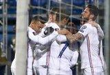 Pasaulio čempionai minimaliu rezultatu įveikė Bosnijos ir Hercegovinos futbolininkus