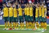 Paaiškėjo Lietuvos rinktinės sudėtis rungtynėms su Slovakija