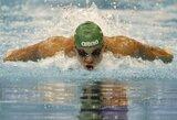 Pasaulio plaukimo čempionate – nesėkmingas T.Duškino pasirodymas
