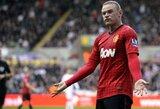 Europos grandai stoja į kovą dėl W.Rooney parašo