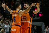 """18-2 surengtas spurtas ketvirtajame kėlinyje neišgelbėjo: """"Panathinaikos"""" krito prieš """"Valencia"""""""
