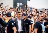 Las Vegaso policija vėl atvėrė C.Ronaldo bylą dėl išprievartavimo, futbolininkui gresia naujas ieškinys