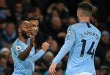 """Be pralaimėjimų žengiantys """"Manchester City"""" iškovojo dvyliktą pergalę Anglijoje"""