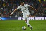 K.Benzema lieka Madride ir taps vienu brangiausiu klubo žaidėju