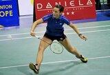 A.Stapušaitytė badmintono turnyre Izraelyje suklupo tik finale