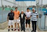Tenisininkas A.Sabaliauskas Kipre triumfavo dvejetų varžybose