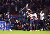 """Čempionų lyga: Atominis PSG puolimas nušlavė """"Barcelona"""" klubą"""