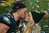 """JAV metų sporto renginys baigėsi netikėta """"Eagles"""" pergale"""