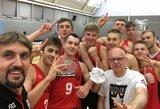 """Vilniaus """"Perlas"""" Londone tapo """"Future Stars"""" turnyro nugalėtojais"""