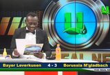 Internautai leipsta juokais: Ganos televizijos žvaigždė pabandė perskaityti futbolo rezultatus
