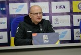 """V.Urbonas: """"Džiaugiuosi, kad prie mūsų prisijungė Vilniaus """"Žalgirio"""" futbolininkai"""""""