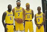 """""""Meme Team"""": L.Jamesas savo komandos draugų grupei sugalvojo naują pavadinimą"""