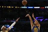 """NBA dienos epizodus kūrė S.Curry ir """"76ers"""""""