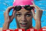 J.Jefimovai sužibo viltis dalyvauti olimpiadoje: plaukikei gali būti pritaikyta amnestija